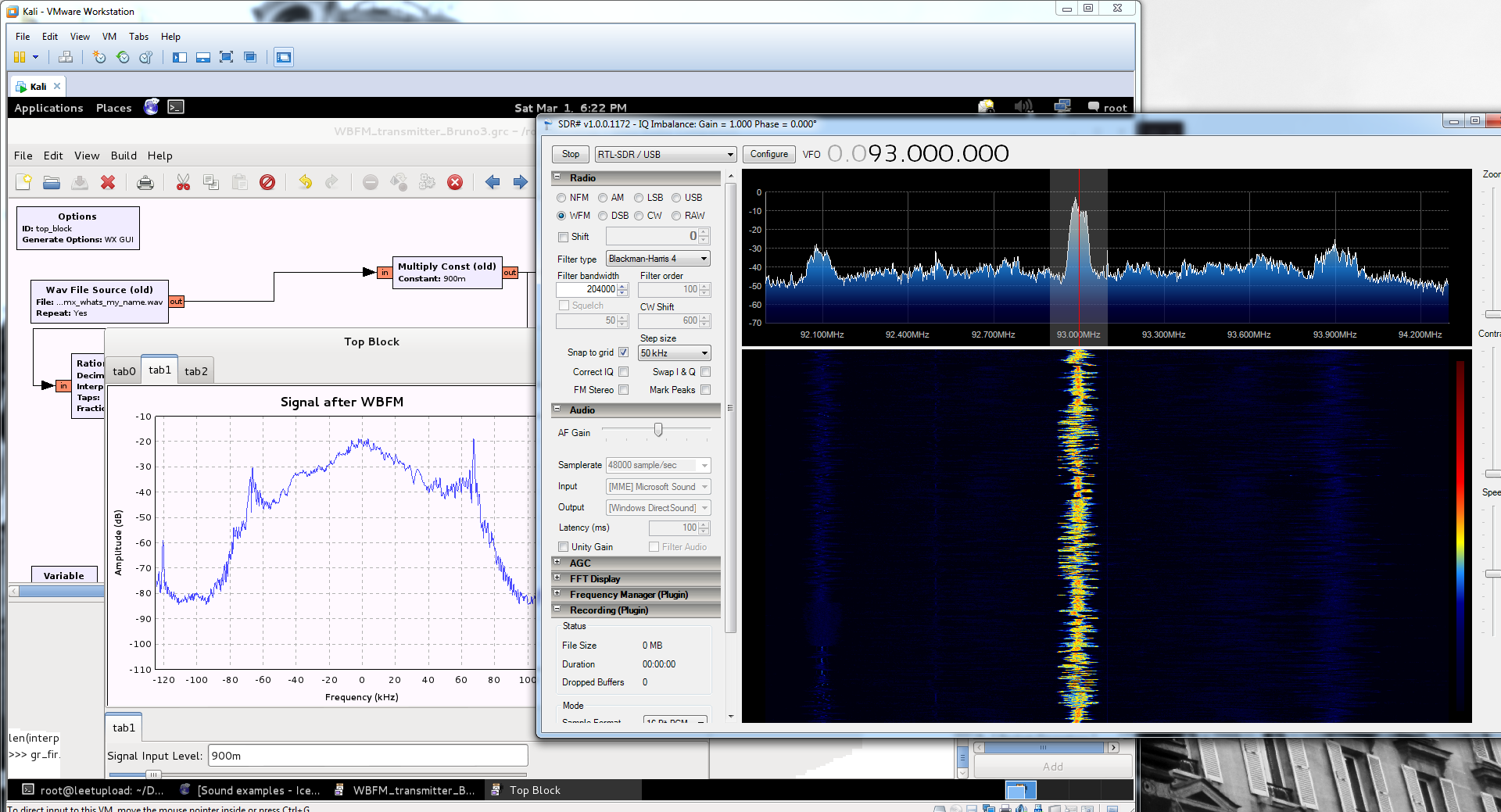 X Gon' Give it to Ya: Transmitting FM Radio Over the Air
